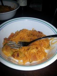 Buffalo Turkey Bacon Spaghetti Squash